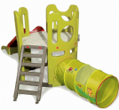 Plastic Adventure Garden Playhouse with slide